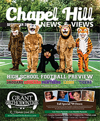 Chapel Hill News & Views High School Football Cover
