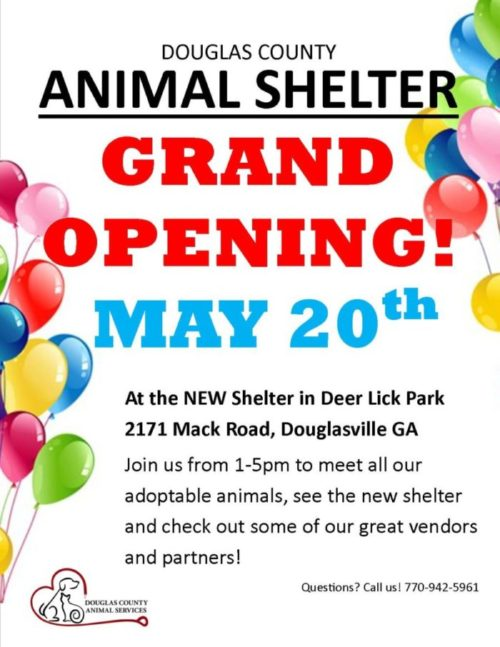 The New Douglas County Animal Shelter is Coming!