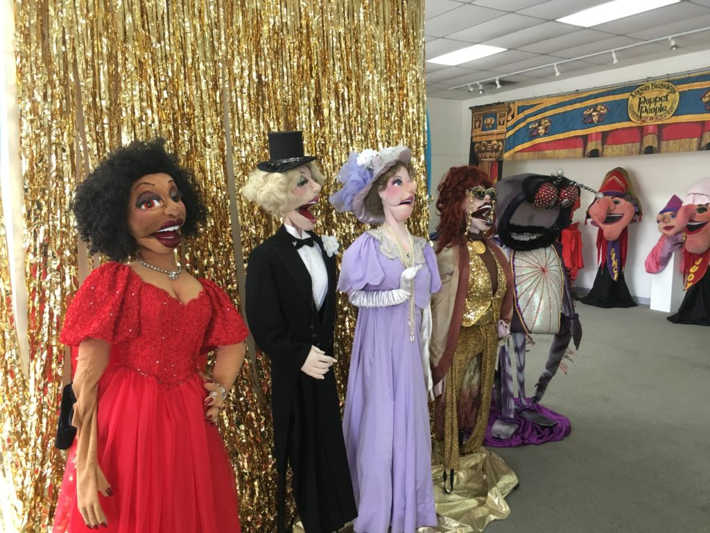 Puppet People take over Carrollton Center for the Arts
